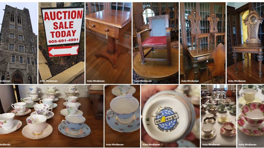 The Loretto Abbey Online Auction is Now Open:  Claim your piece of history